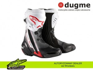 buty Alpinestars SUPERTECH R red