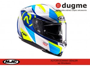 KASK HJC R-PHA-70 LIF BLUE/WHITE/YELLOW