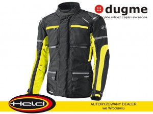 kurtka tekstylna HELD CARESE II GORE-TEX black/fluo yellow