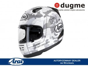 kask Arai REBEL Command white