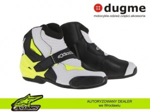 buty Alpinestars SMX-1R vented fluo yellow
